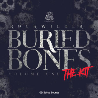 دانلود سمپل پک هیپ هاپ Splice Sounds Rockwilder's Buried Bones Vol 1 - The Kit WAV